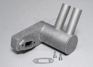 Pitts Muffler voor 50cc ~ 56cc gasmotor