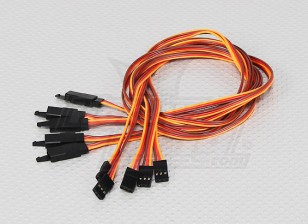 60CM Servo Lead Extention (JR) met haak 26AWG (5pcs / bag)