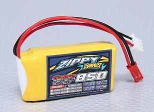 Pack ZIPPY Compact 850mAh 2S 25C Lipo