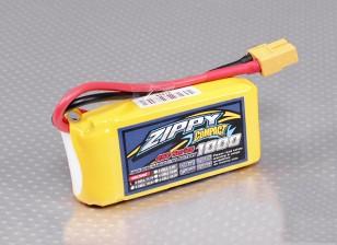 Pack ZIPPY Compact 1000mAh 3S 25C Lipo