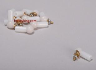 Bal en roller koppeling 4.8x3x17mm (10st / bag)