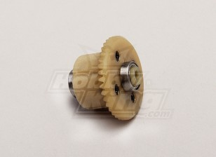 Diff Main Gear w / Lagers (4T Motor Gear) - 1/18 4WD RTR On-Road Drift / Short Course