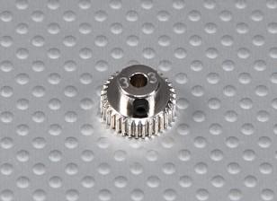 33T / 3.175mm 64 Pitch Steel Pinion Gear