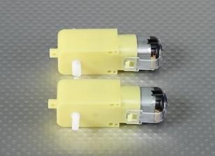 Afgestemd Motor w / 90 graden Shaft (2 stuks / Bag)