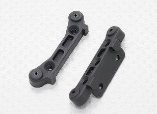Plastic Rear Susp. Holder - 1/10 Quanum Vandal 4WD Racing Buggy (2 stuks)