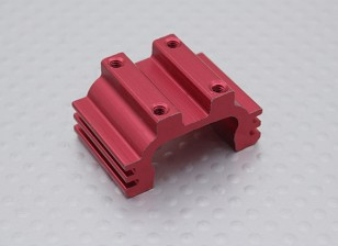 Motor Mount (Rood) 1/16 Turnigy 4WD Nitro Racing Buggy