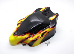 Pre-Painted Body 1/16 Turnigy 4WD Nitro Racing Buggy