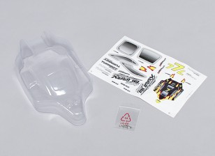 Clear Body Shell 1/16 Turnigy 4WD Nitro Racing Buggy