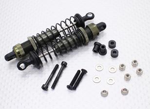 Metalen front Shock (afgerond) - A2033 (2 stuks)