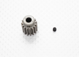 """""""Hard One"""" 1.0M Geharde Helicopter Pinion Gear 6mm Shaft - 15T"""