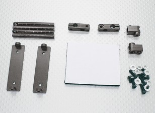 10/01 Car Aluminium CNC Body Shell Montage Set (Titanium)
