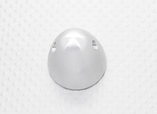 31mm Alloy Prop Nut / Spinner Suites 5mm discussie (zilver geanodiseerd)
