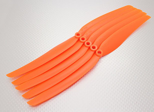 GWS Style Propeller 11x6 oranje (CCW) (5 stuks)