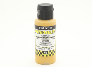 Vallejo Premium Color Acrylverf - Yellow Ochre (60 ml)