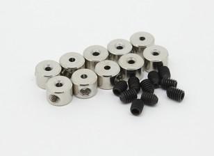 Landing Gear Wheel Stop Set Collar 6x1.1mm (10st)