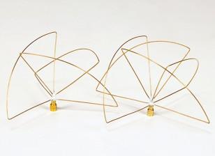 900Mhz circulair gepolariseerde antenne Set (RP-SMA) (LHCP) (Short)