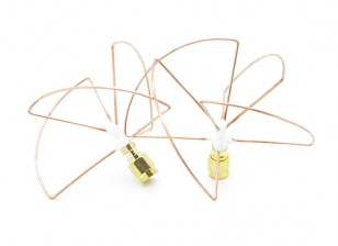 2.4GHz circulair gepolariseerde antenne SMA (Set) (Short)