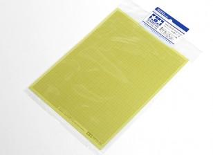 Tamiya Masking Sticker Blad 1mm Grid Type (5 stuks)