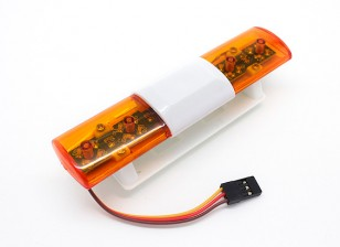Recovery Vehicle LED Lighting System Oval stijl (Amber)