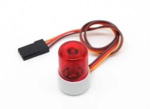 Politiewagen Style LED Light Beacon (Rood)