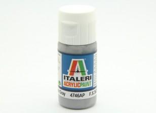 Italeri Acrylverf - Flat Medium Gray