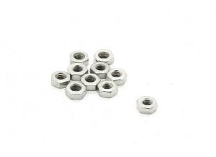 RJX X-TRON 500 M2 Standard Hex Nuts # XT8025 (10st)