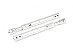 Alloy Rechte Oleo Struts 130mm (2 stuks)