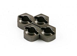 Titanium Wheel Hubs (4 stuks) - Basher 16/01 Mini Nitro Circus MT