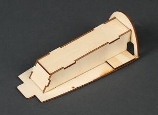 HobbyKing® Bix3 Trainer 1550mm - Vervanging FPV Canopy