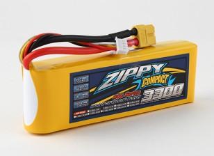 Pack ZIPPY Compact 3300mAh 3s 40c Lipo