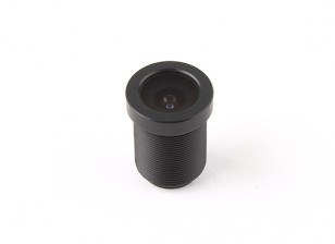 """2.5mm Board Lens, F2.0, Mount 12x0.5, CCD Maat 1/3 """", Hoek 130 °"""