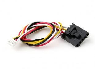 200mm 5 Pin Molex / JR 4 Pin White Connector Lead