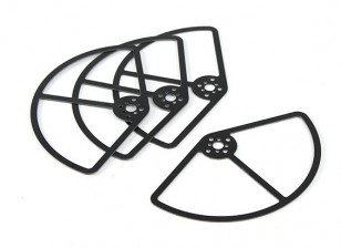 Propeller Guards voor de 250 klasse Racer (5inch) set van 4