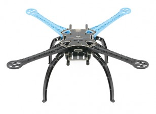 S500 Glasvezel Quadcopter Frame 480mm - Geïntegreerde PCB Version