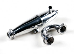 1/8 Schaal Truggy / Buggy Nitro Tuned Pipe and Manifold Set