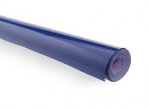Covering Film Solid Blauw-Zwart (5mtr) 107
