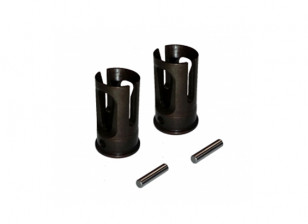 Heavy Duty Solid As Outer Joint (2 stuks) - 3Racing SAKURA FF 2014