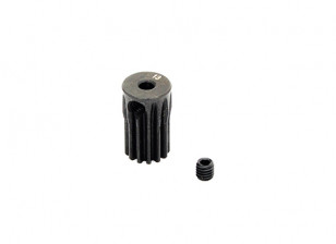 Hobbyking ™ 0.5M gehard staal Helicopter Pinion Gear 2.3mm Shaft - 13T