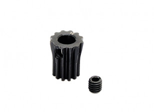 Hobbyking ™ 0.6M gehard staal Helicopter Pinion Gear 5mm Shaft - 12T