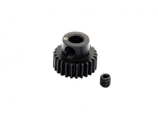 Hobbyking ™ 0.6M gehard staal Helicopter Pinion Gear 5mm Shaft - 25T