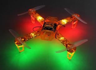 HobbyKing FPV250 V4 Orange Ghost Edition LED Night Flyer FPV Drone (Orange) (Kit)