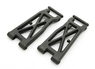 Fibre Reinforced Rear Lower Arms - BZ-444 Pro 1/10 4WD Racing Buggy (1 paar)