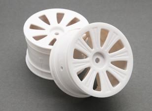 Rear Wheel (2 stuks) - BSR Racing BZ-444 1/10 4WD Racing Buggy