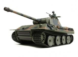 Duitse PzKw V (Panther) RC Tank RTR w / Airsoft & Tx (EU stekker)