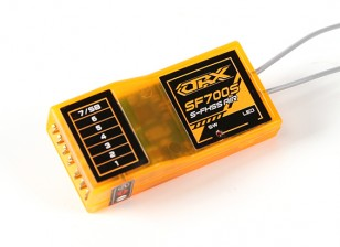 OrangeRx SF700S Futaba FHSS Compatibel 7ch 2.4Ghz ontvanger met FS en SBus