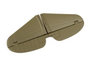 Vervanging Horizontale Stabilizer voor Durafly Curtiss P-40N Warhawk