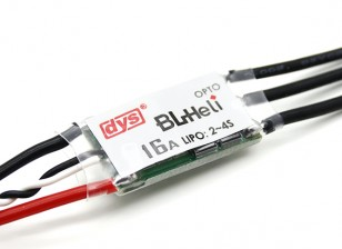 DYS 16A Micro Opto BLHeli Multi-Rotor Electronic Speed Controller (BLHeli Firmware) SN16A