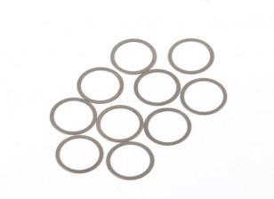 BSR Beserker 1/8 Truggy - Shim 13.2x15.9x0.2mm (10st) 941.312