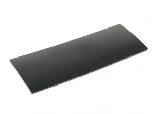 Battery Silicon antislipmat 90x35x1.5mm (zwart)