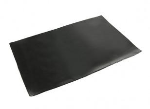 Vibration Absorption Sheet 210x145x1.5mm (zwart) met 3M dubbelzijdige tape